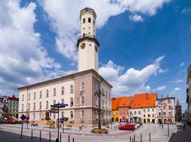 Ratusz, Plac Wolności, Bystrzyca Kłodzka