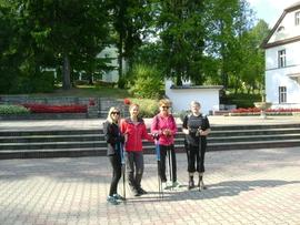 Wycieczka Nordic Walking z instruktorem w Długopolu-Zdroju