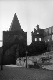 Brama Wodna, ul. Podmiejska, fot. Tadeusz Scelina, (ok. 1950 r.)