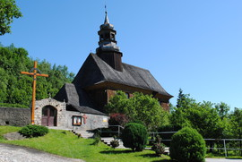 Drewniany kościół pw. Wniebowzięcia NMP w Nowej Bystrzycy