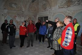 Zwiedzanie Zespołu pałacowo-parkowego w Gorzanowie.